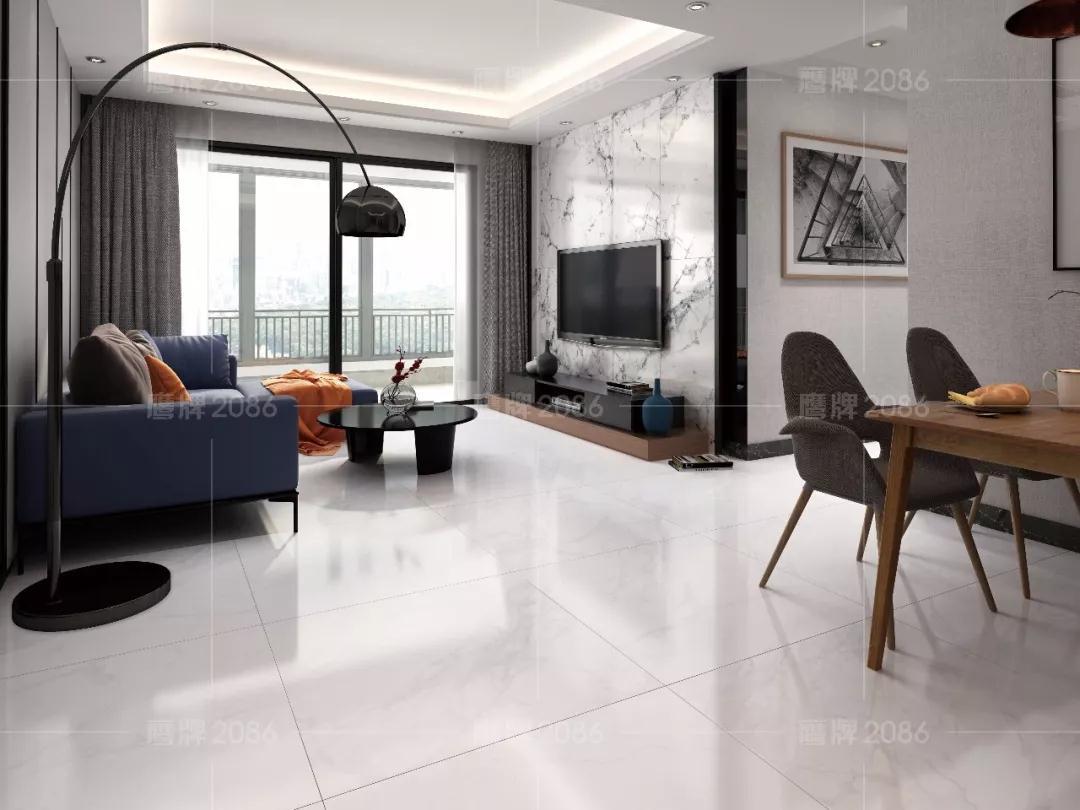 简约现代风,自然的舒适与精致 | 鹰牌2086全屋设计方案