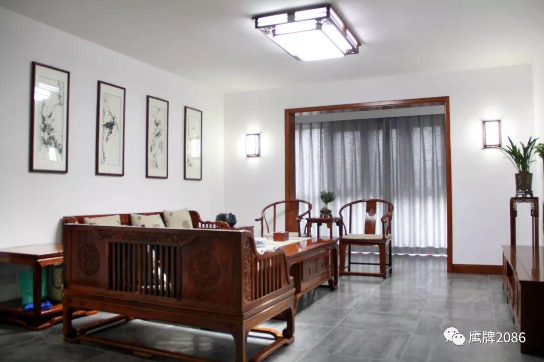 鹰牌2086家装案例,水墨京砖,文人墨客的至爱