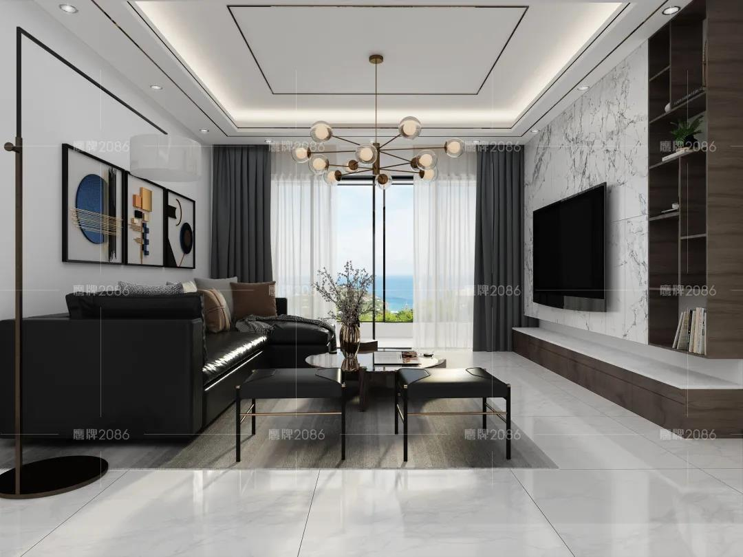 开学季 | 120㎡现代风四居室,打造优雅静谧的精致生活